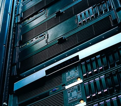 servers used for company it service
